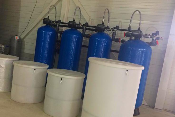 industriële waterbehandeling ontijzering